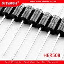 HER508 Diode de récupération ultrarapide haute efficacité 1000V / 5A