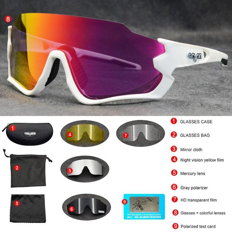 Top Brand MTB Road Bike Glasses Men Sagan 100 Cycling Eyewear Sport Sunglasses Gafas Ciclismo Speed Polarized Cycling Glasses