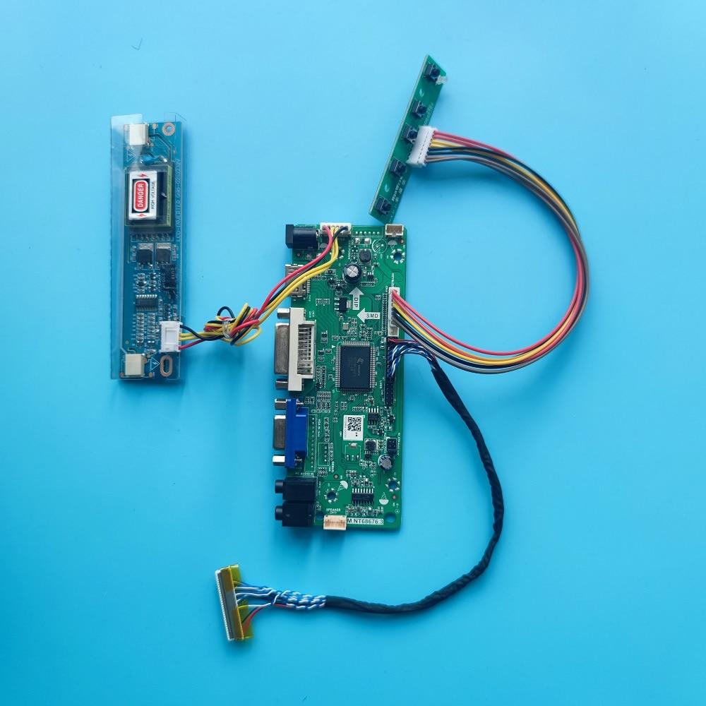 M.NT68676 مجلس DVI VGA وحدة تحكم بشاشة إل سي دي مجلس عدة ل M216H1-L07/L05/L02 2CCFL HDMI-متوافق 1920x1080 لوحة 21.6