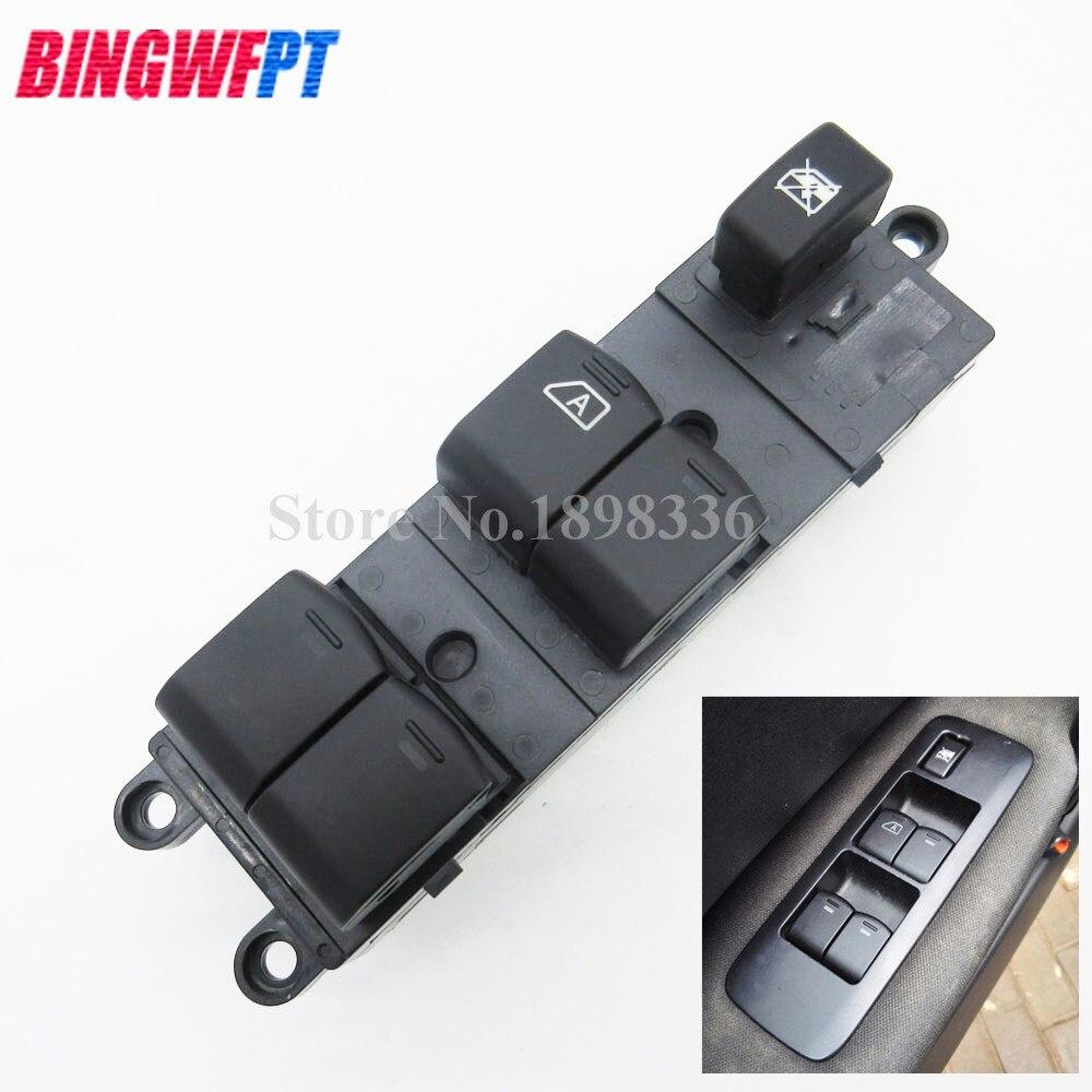 Power Window Switch for Nissan Navara D40 Qashqai J10 JJ10 Pathfinder R51 25401-BR00B 25401BR00B