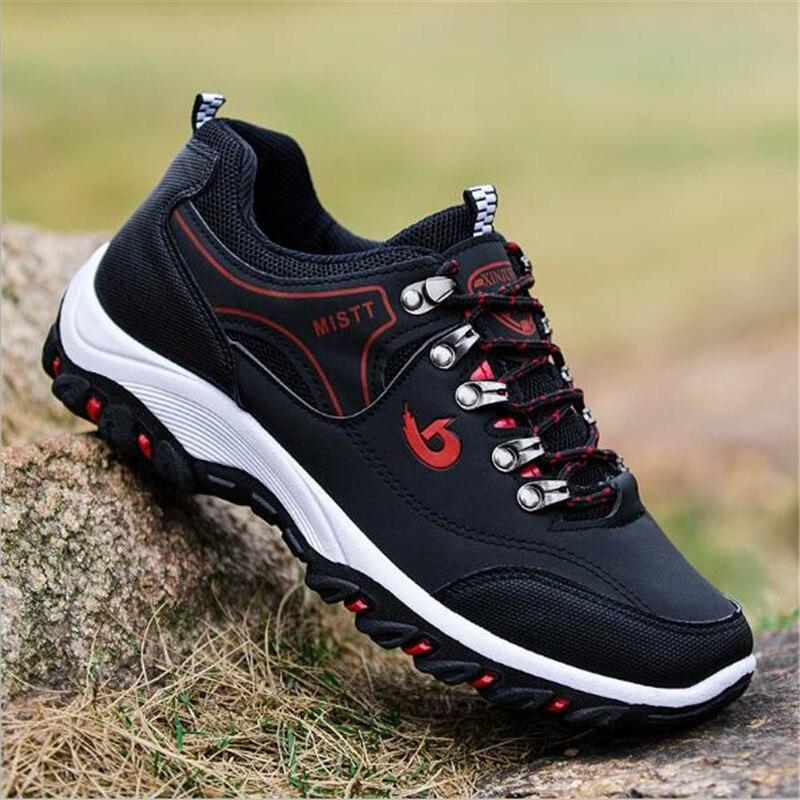 Okkdey أحذية عمل واقية الربيع الخريف الرجال حذاء كاجوال جديد وصول التهوية موضة أحذية رياضية في الهواء الطلق السياحة حذاء رجالي