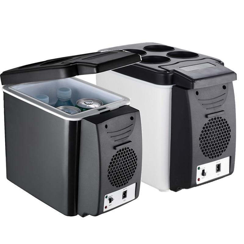 6 л автомобильный холодильник 12 в небольшой Холодильник Холодильное оборудование для сохранения свежести бытовая техника
