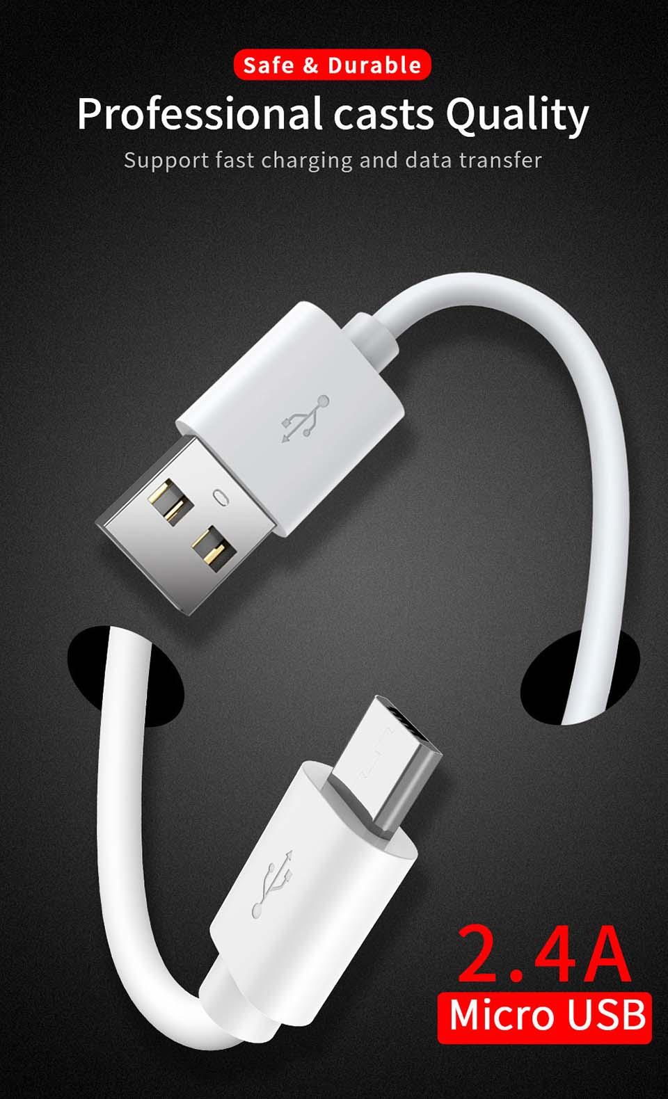 Cable de carga Micro Usb para móvil, Cable de carga Usb múltiple...