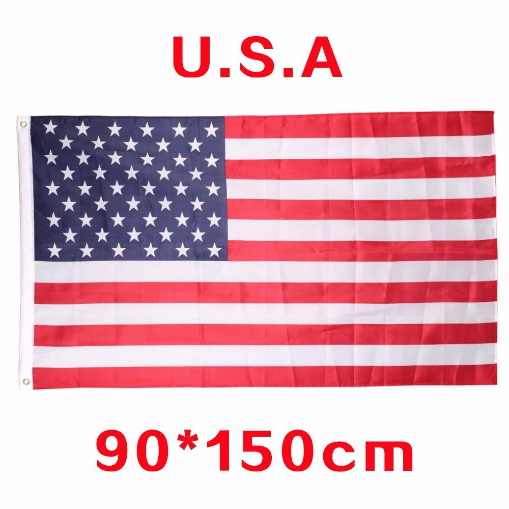 Drapeau américain 3x5 pouces-ANGRLY   En Polyester, Flag150x90cm, les petits drapeaux américains, soyez fiers de votre patriotisme
