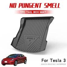 Tapis de sol pour le coffre avant   Tapis de coffre avant pour Tesla max 2019 accessoires de voiture, tapis de rangement, plateau de cargaison avant