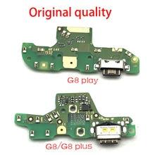 Port USB chargeur Dock prise connecteur panneau de charge câble flexible micro micro carte pour Motorola Moto G8 / G8 Play / G8 Plus