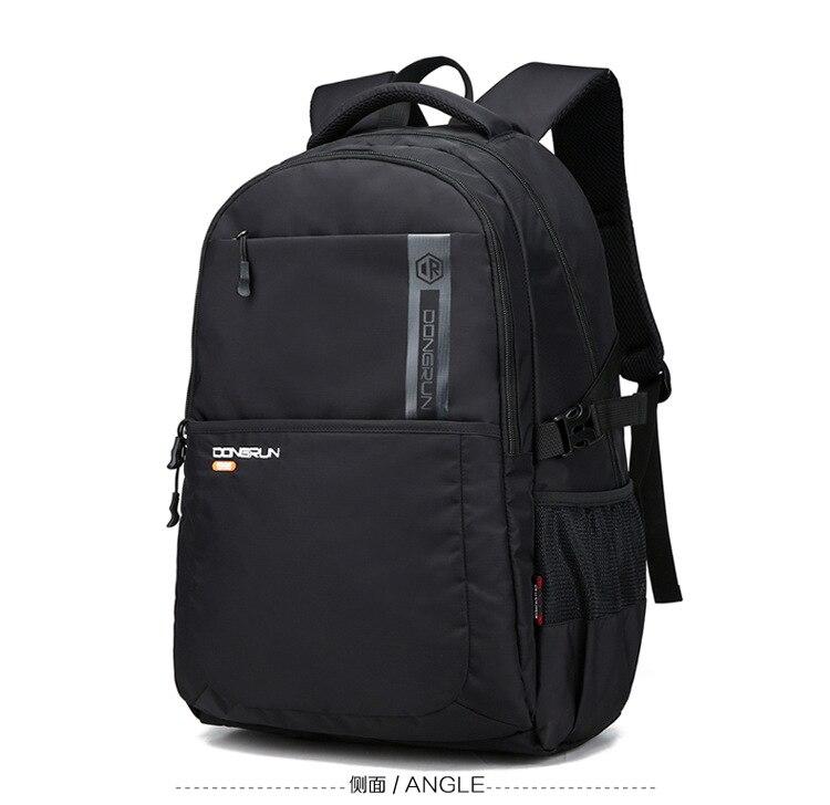 J2860-Travel حقيبة كلية الطلاب حقيبة مدرسية للرجال متعددة الوظائف على ظهره
