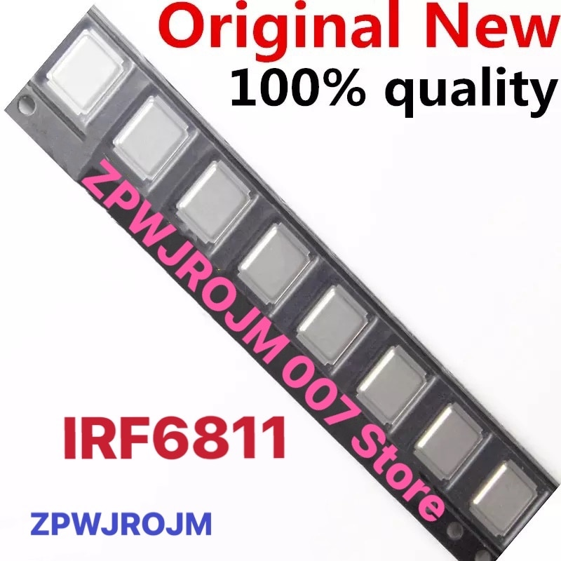 10 pz/lotto IRF6811S IRF6811 6811 MOSFET QFN