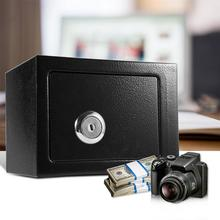 Boîte de sécurité forte Durable de haute qualité en acier coffre-fort clé actionné argent stockage dargent pour la livraison domestique dutilisation de bureau à domicile