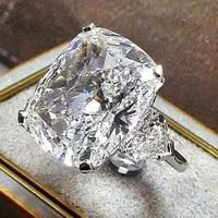 14k gold wedding diamond ring for women anillos white topaz jewelry bague gemstone bizuteria 14k gold jewelry ring box bizuteria