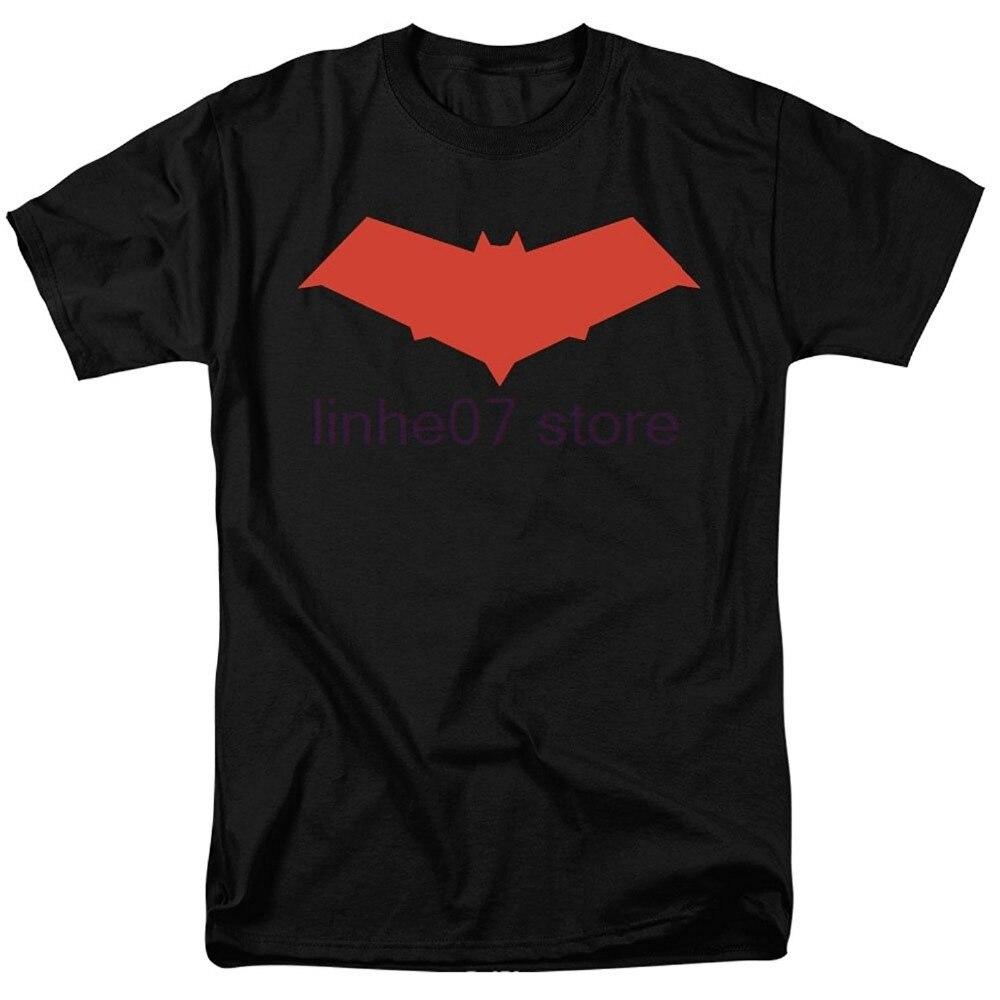Gran oferta de 2019, camiseta de superhéroe con capucha roja de Jason toys Comics, camisetas de manga corta novedosas para hombre, ropa
