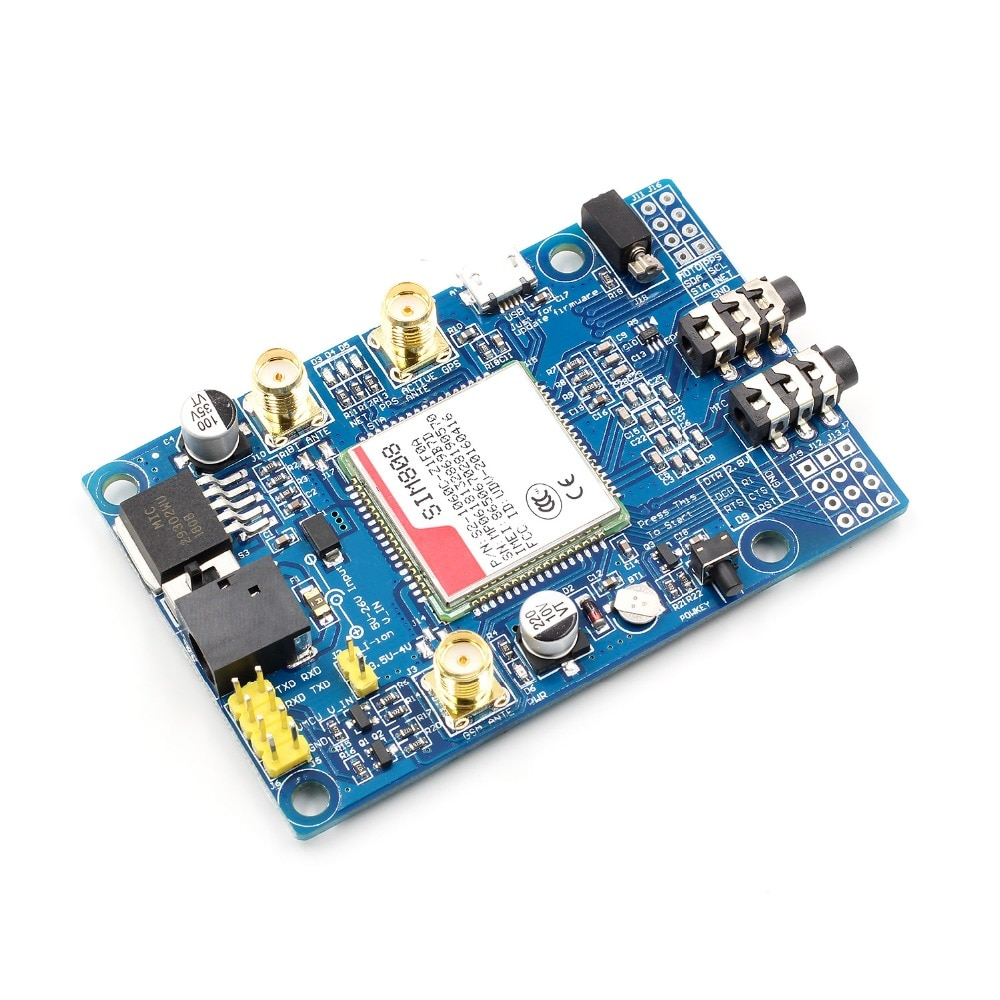1pcs SIM808 Module GSM GPRS GPS Development Board SMA With GPS Antenna For Arduino