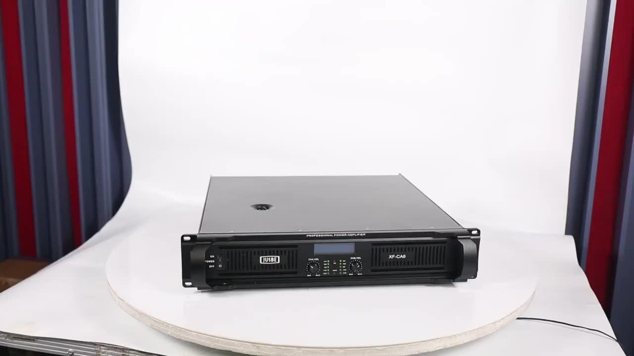 Jusbe المهنية الصوت والفيديو والإضاءة 2019 XF-CA9 1000 واط dj مكبر للصوت سعر الصوت مكبر كهربائي