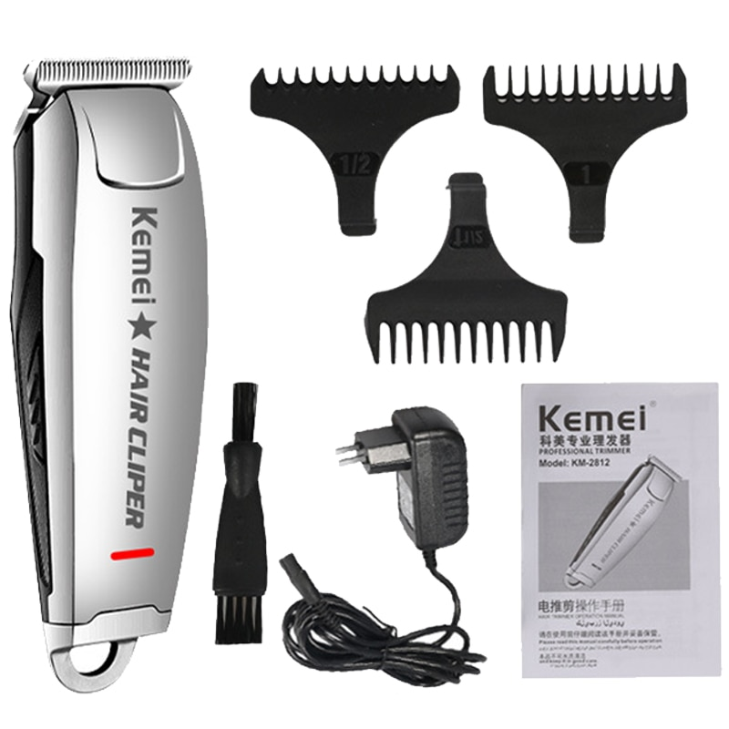 Kemel Edging Clipper Kamei Shaver Kmei Shaving Head Machine Barber Shop Kemey Professional Keimei Carve Kimei Trimmer for Fading