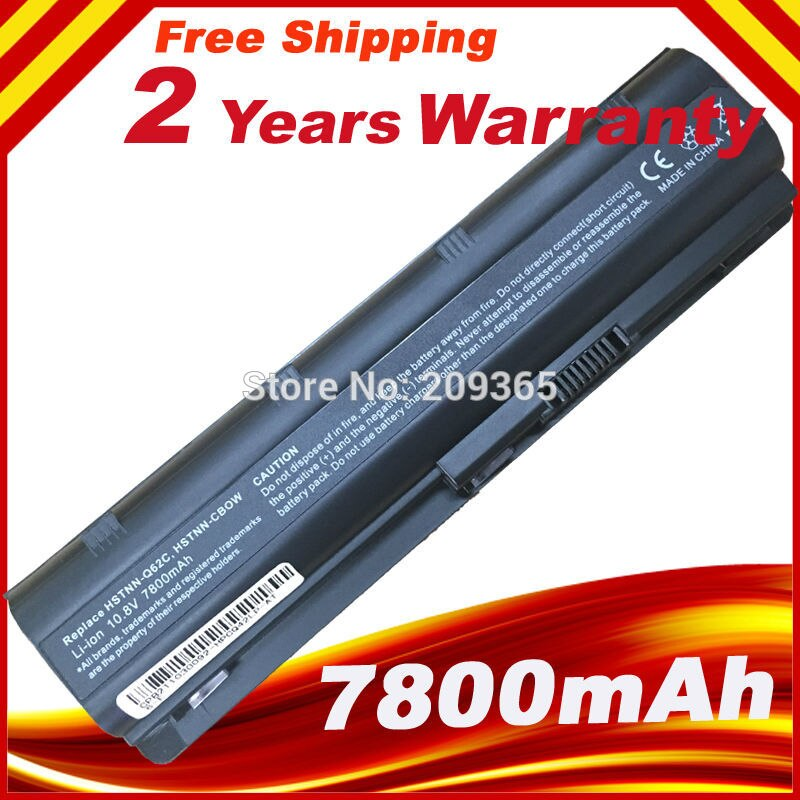 Negro batería de ordenador portátil para HP mu06 mu09 593553-001 g4 G6...