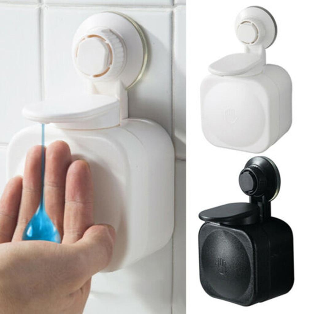 شفط كأس موزع الصابون الحائط ABS مقاوم للماء صندوق الصابون للحمام التخزين X6X080272