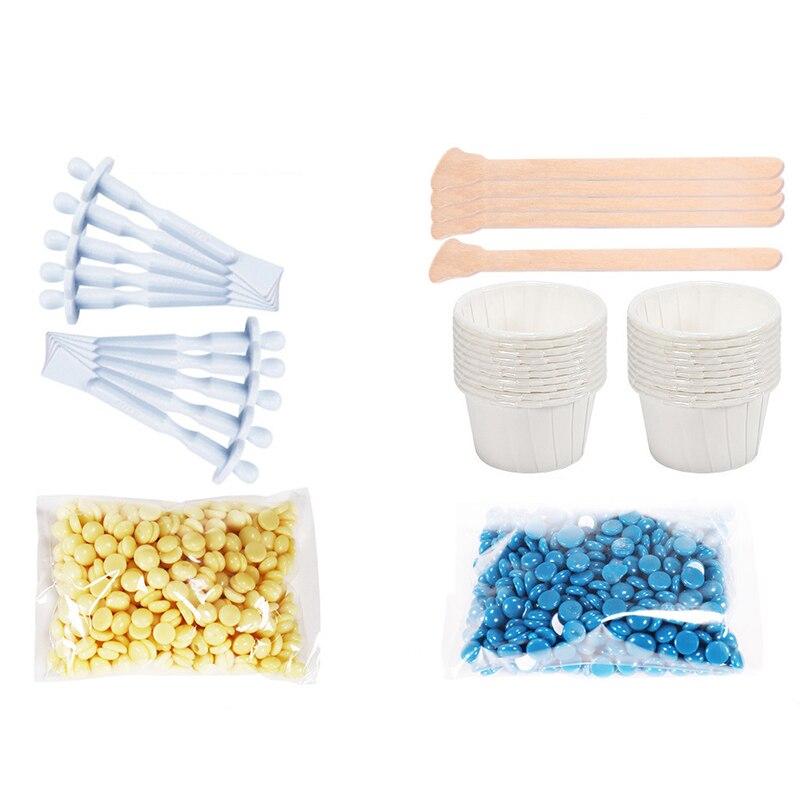 Remoção da Cera de Cabelo para Homens Rápido e Indolor Kit de Cera com Aplicadores de Nariz Mulheres Seguro Fácil &