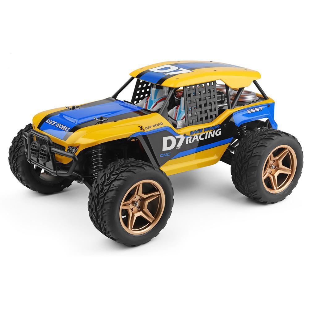 Rctown 12402-a 4wd 1/12 2.4g rc carro sobremesa baja veículos modelos de alta velocidade 45km/h