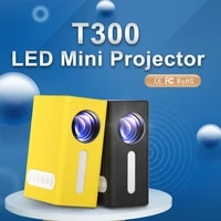 UNIC     projecteur multimedia Portable T300  HD 1080P  1920x1080 AV  HDMI  Audio USB  pour la maison
