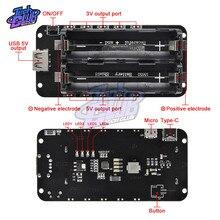 5V/3A 3V/1A 18650 batterie au Lithium deux bouclier V8 Mobile batterie externe carte dextension double tension Module Micro USB pour Arduino ESP