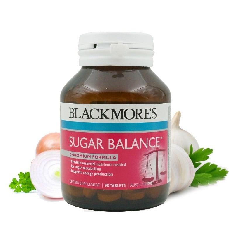 Original Australia BM Sugar Balance 90 Tablets Health Supplement for Blood Sugar Carbohydrate Metabolism Energy Production