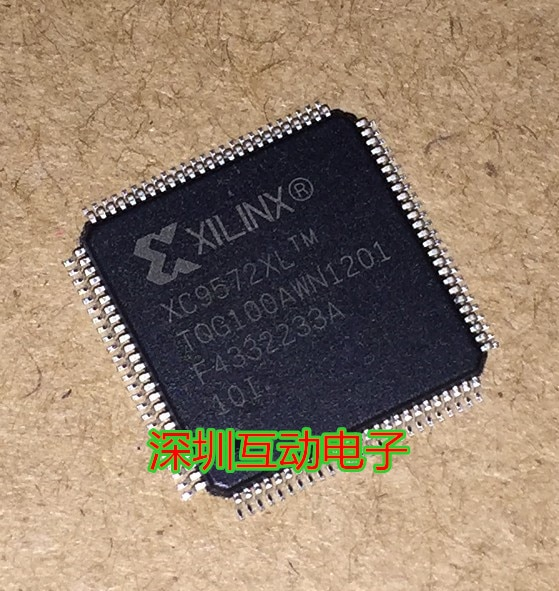 XC9572XL-10TQG100I QFP100