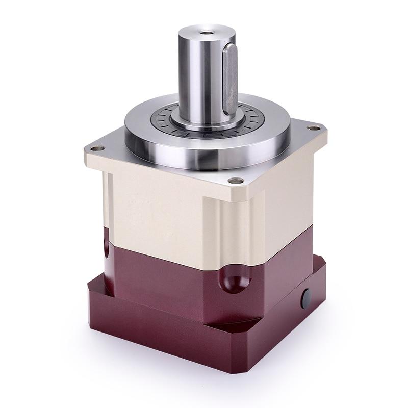5 Arcmin-علبة تروس حلزونية عالية الدقة لمحرك مؤازر ، من 3:1 إلى 10:1 لـ 80 مللي متر ، 750 واط ، عمود إدخال 19 مللي متر