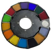 12 pcs/lot 230W 7R roue de couleur pour Sharpy faisceau 230W 7R lumière principale mobile