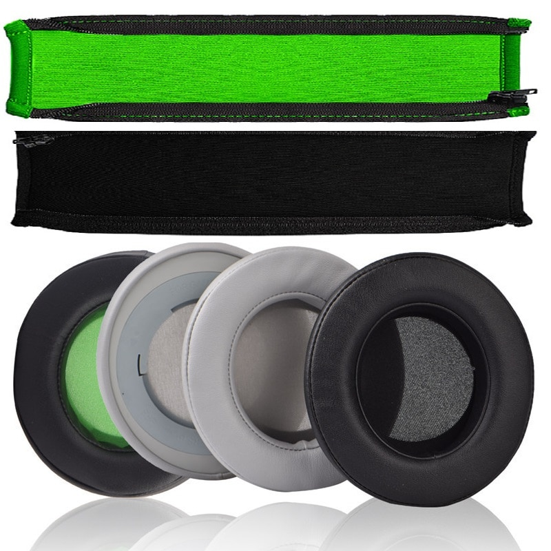 Almofadas de substituição almofada para razer kraken pro v2 proteger headband para razer kraken 7.1 v2/kraken v2 fone de ouvido