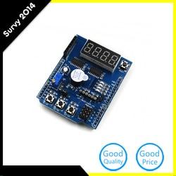 1 pcs Novo Multi-Funcional Base de Expansão Placa de Desenvolvimento de Aprendizagem Para Arduino Compatível com o UNO MEGA 2560