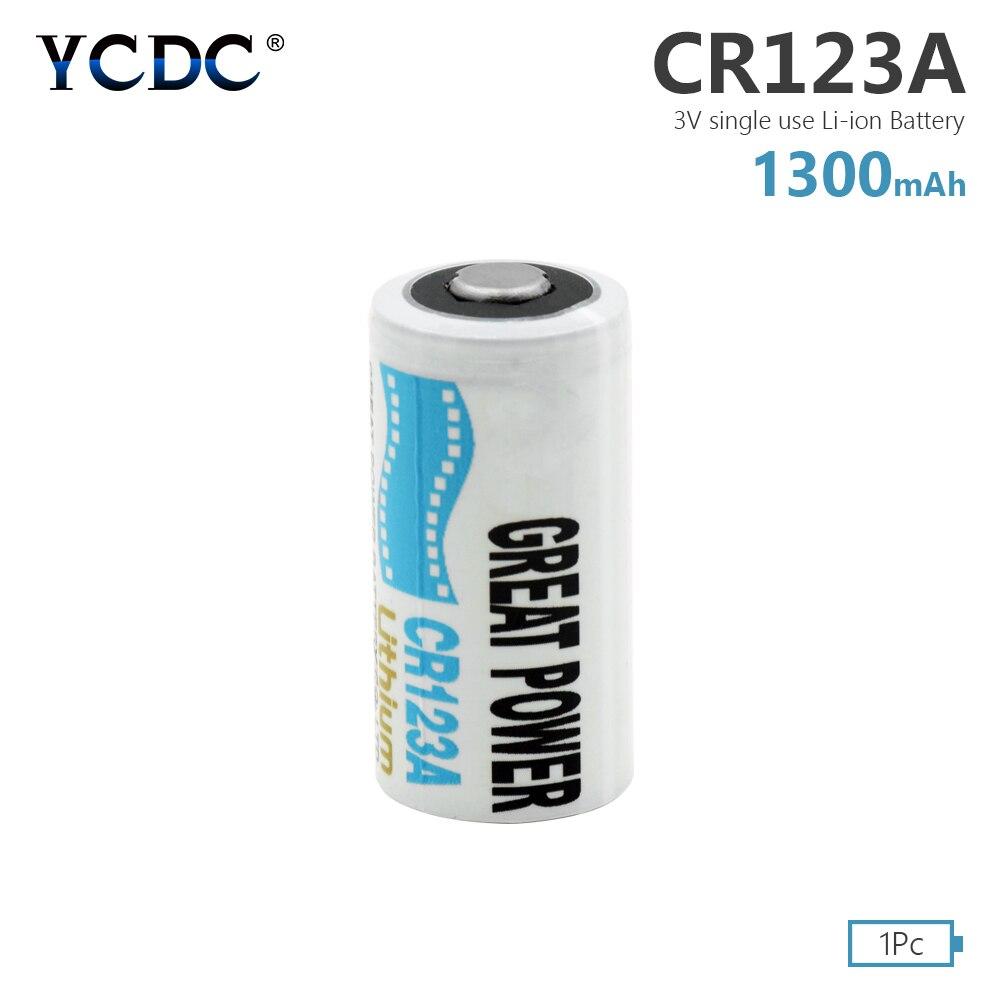 3 1 peça de Alta Qualidade V CR123A LiMnO2 Baterias CR17345 K123A VL123A DL123A 5018LC SF123A EL123AP Para LED Lanterna Tocha