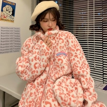 Winter Lamb Wool Sticky Cotton Clothing Cotton Coat Female Winter Ins Hong Kong Style Harajuku Velve