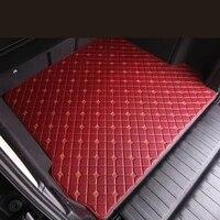 no odor waterproof carpets boot rugs custom special car trunk mats for hyundai encino santafe accent i40 i45 azera