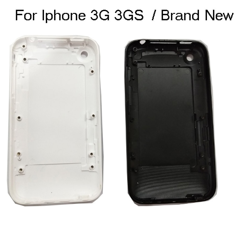 For iPhone 3G 3GS Housing 8GB 16GB 32GB Battery Door Housing Back Cover Case Mobile Phone White or B