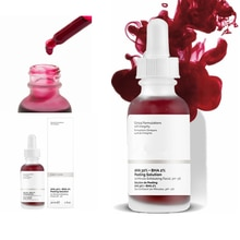 Face Peeling Solution 30ml AHA 30% + BHA 2% Ordinary to peel that dead top layer Make Up Anti Skin C
