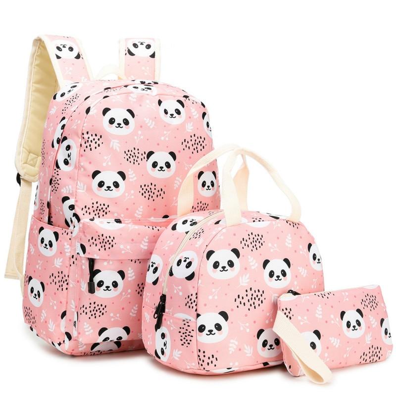 children school bags set girls kids orthopedic backpack primary school backpack princess schoobag kids satchel mochila infantil
