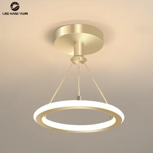 Modern Chandelier Led Lustres Gold&Black Ceiling Fixtures Led Chandelier Lighting for Living room Bedroom Dining room 110V 220V
