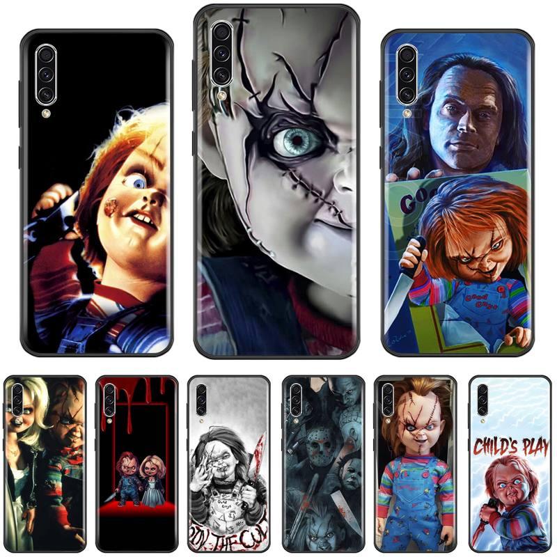 Americano filme de terror chucky glenn telefone capa para samsung a20 a30 30s a40 a7 2018 j2 j7 prime j4 plus s5 nota 9 10 plus