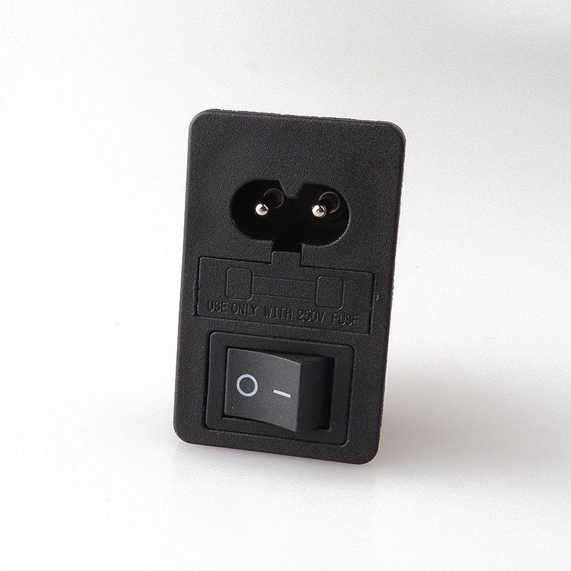 LZ-8-F3 c8 com interruptor preto fusível snap-in tipo interruptor de tomada de energia 4pin interruptor de balancim preto