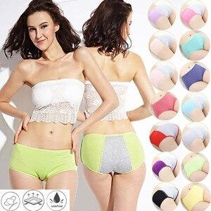 Leak Proof Menstrual Panties Physiological Pants Women Underwear Period Comfortable Waterproof Briefs Ladies Underpants Knicker