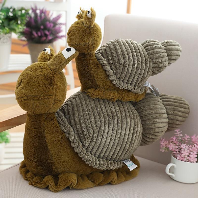 1pc 28/40cm Cartoon 3D Cute Turbo Plush Toy Stuffed Animal Toys Cool Turbo Speed Snail Plush Toys For Kid Birthday Gift