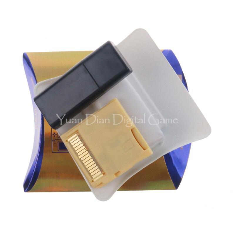 Новинка 2020, R4 SDHC, золотая, белая, серебристая видеокарта для игр, скачать самостоятельно с розничной коробкой (без tf-карты)