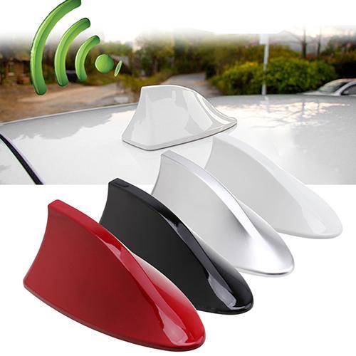 Antena decorativa Universal para coche sin función Antena de radio con aleta de tiburón
