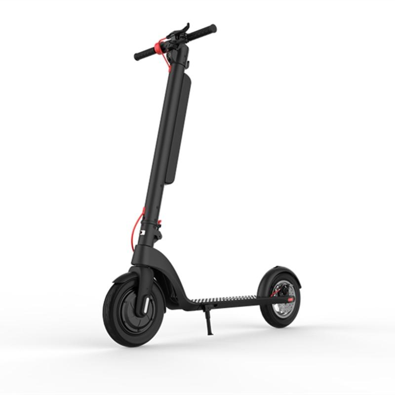 Patinete eléctrico plegable para adulto, 10 pulgadas, 350W, 36V/10Ah, 25 km/h, 45km