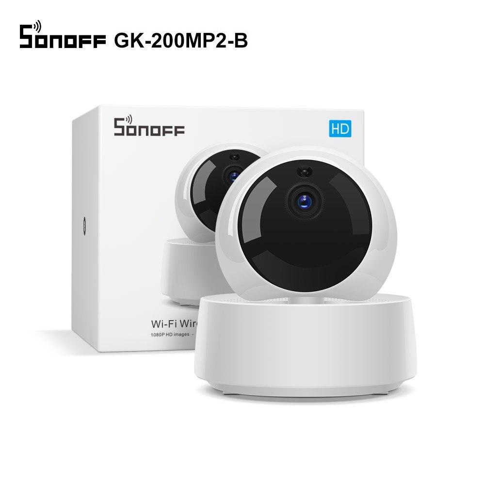 SONOFF GK-200MP2-B 1080P HD Mini Wifii Kamera Smart Wireless IP Kamera 360 IR Nacht Vision Baby Monitor Überwachung Kameras