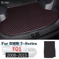 leather car trunk mat for bmw 7 series 2008 2015 trunk boot mat 7srieis liner pad f01 bmw 740i 730i 750i carpet tail cargo liner