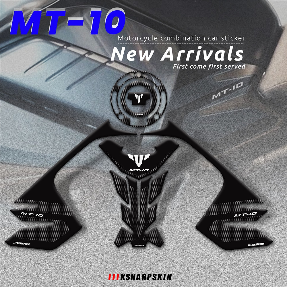 new 3d gel fuel tank side protection sticker fuel tank deca0ls racing kit sticker for bmw f850gs f850 gs 2020 MT LOGO Motorcycle 3D Gel Fuel Tank Cap Sticker fuel Tank decal Traction Side Pad Protector Decal set For YAMHA MT-10 MT10 mt 10