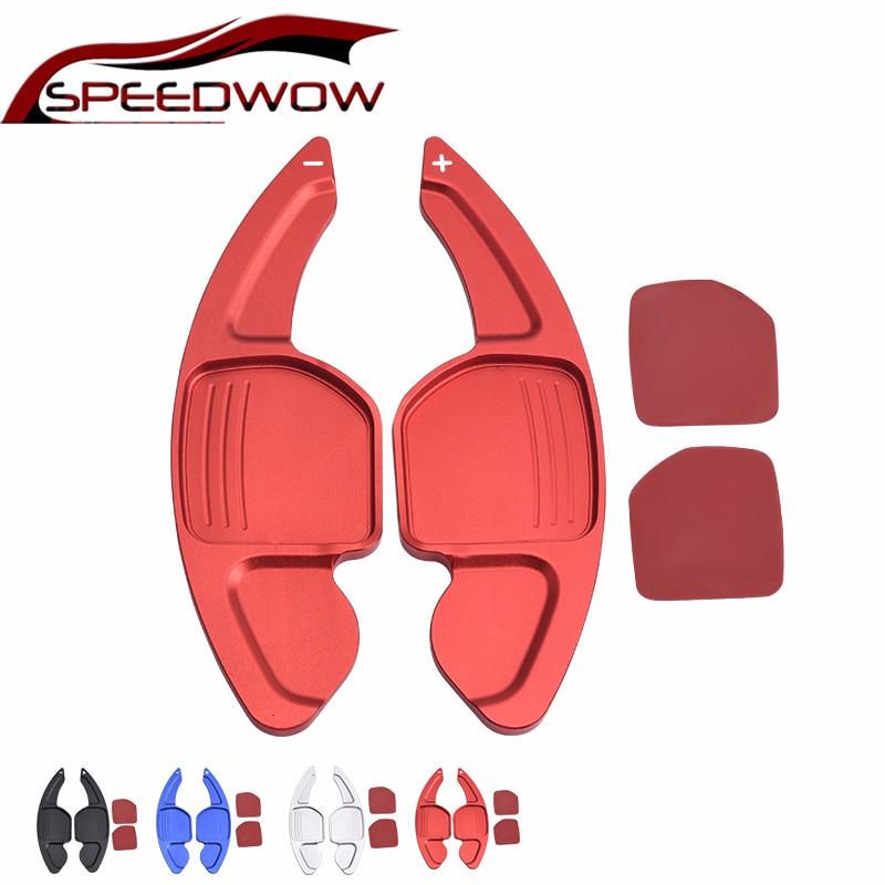 SPEEDWOW рулевого колеса автомобиля DSG переключения удлинитель лопастей Манетки наклейки для AUDI A3 S3 A4 S4 B8 A5 S5 A6 S6 A8 R8 Q5 Q7 TT