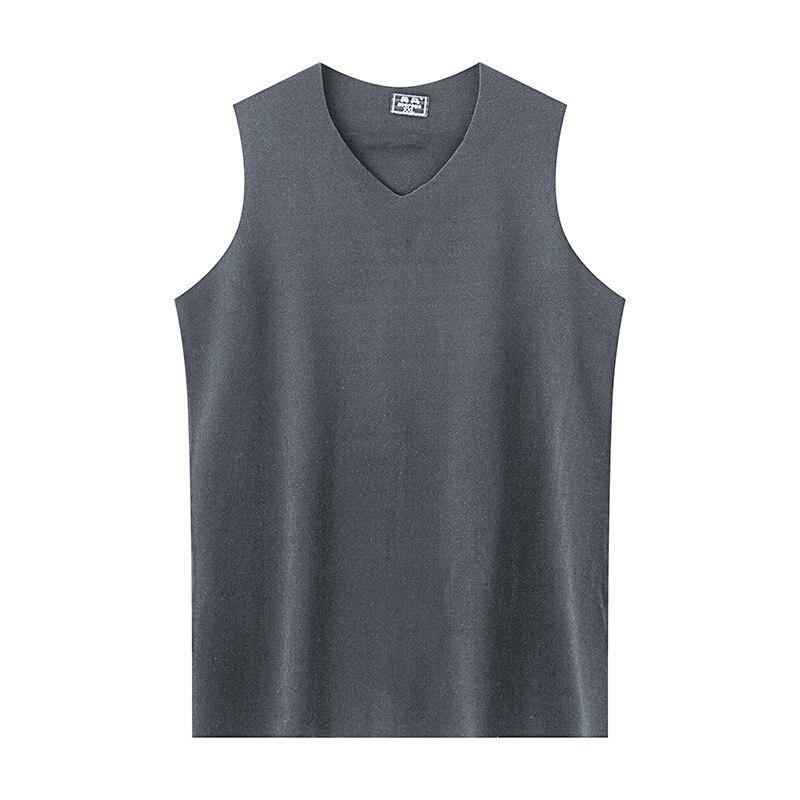 Nova marca masculina oversize cor sólida sem mangas solto casual colete esportivo básico regata tanque básico 7xl roupas masculinas