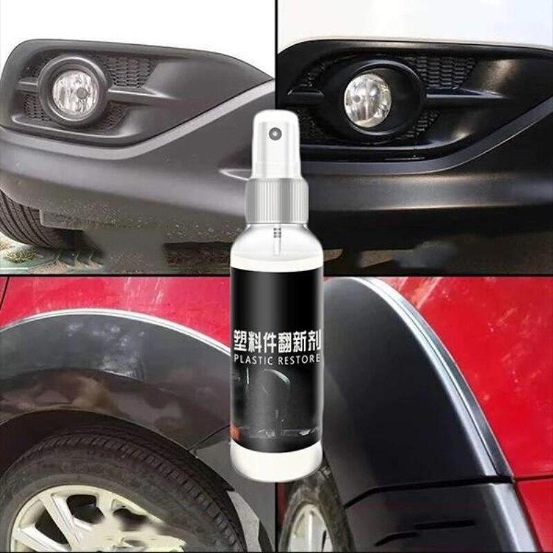 30ml Plastic Parts Retreading Agent Wax Instrument Panel Wax Reducing Agent Renovated Coating Car Li